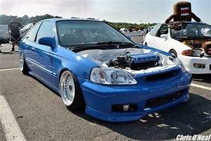 Clean Ek Civic With An Engine Bay Wire Tuck  With Images
