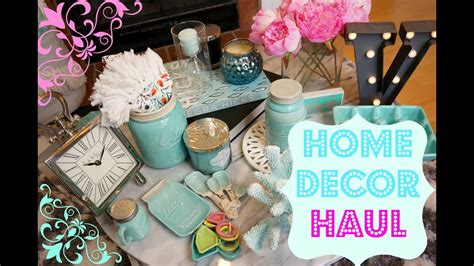 home decor haul tj maxx home goods target marshals