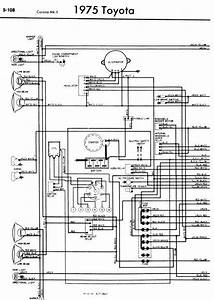 Toyota Corona Mark Ii 1975 Wiring Diagrams