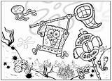 Coloring Spongebob Squarepants Bob Cartoons Sponge Animated Cartoon Friends Colors Characters sketch template