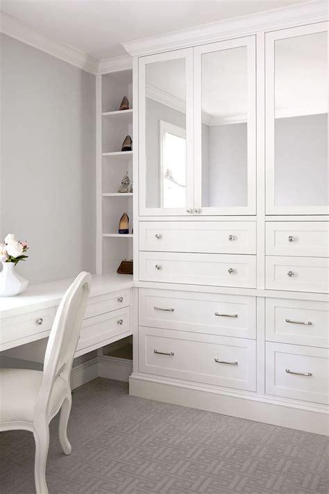 custom dressing room  built  mirrored wardrobe