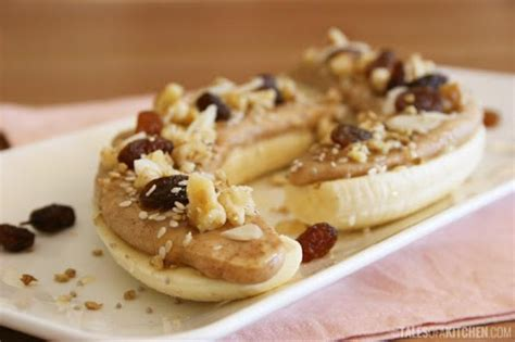 banana peanut butter  raisins recipe  nutrition