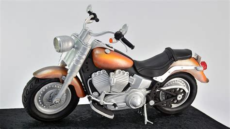 Motorbike Template For Cake by 3d Cruiser Motorcycle Cake Cake Decorating Tutorials
