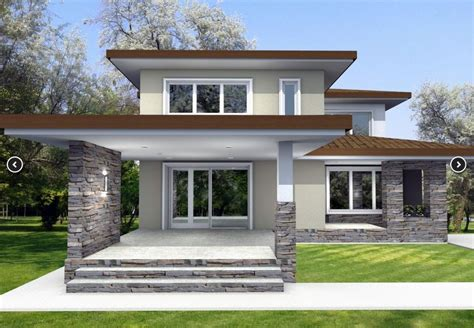 2 stories house two house plans with master on floor