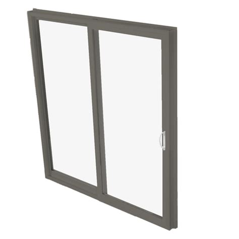 betterbilt sliding aluminum bronze vinyl patio doors at