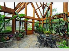 Greenhouse Pavilion, Koi Pond, and Stone Driveway