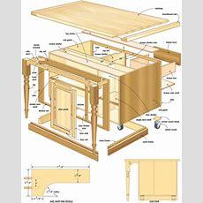 Woodwork Wood Plans For Kitchen Island Pdf Plans