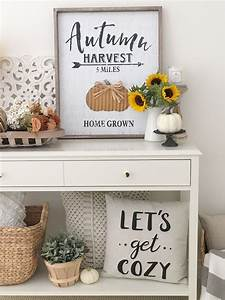 Fall, Console, Table, Three, Different, Looks