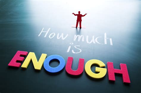 How Much Is by Sermon How Much Is Enough