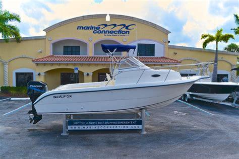 Sea Fox Walkaround Boats For Sale by Used 2001 Sea Fox 230 Walk Around Boat For Sale In West