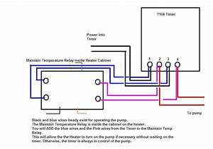 5 Pin Relay Wiring Diagram Pool Heater