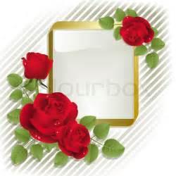 Bilder Mit Weißem Rahmen : rote rosen mit goldenen rahmen auf wei em hintergrund vektorgrafik colourbox ~ Indierocktalk.com Haus und Dekorationen