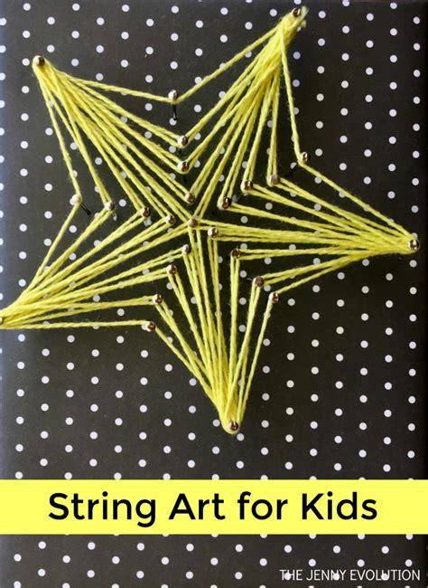 string art  kids  fun fine motor kids craft