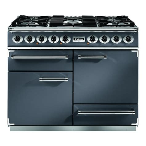 falcon range cooker falcon 1092 deluxe dual fuel gas or lpg hob range cooker multifunction oven fan oven