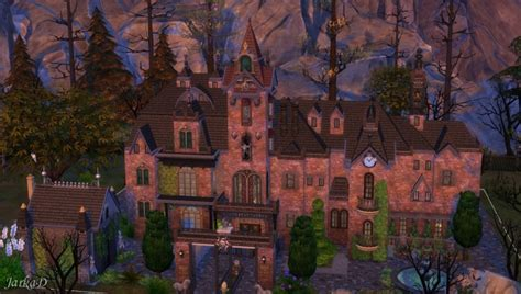 vampire mansion  jarkad sims  blog sims  updates