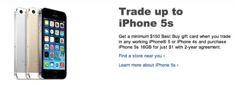 verizon iphone 5s trade in verizon gives you 100 to take an iphone or best buy trade