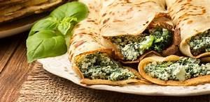 Wraps Füllung Vegetarisch : spinaziewrap met geitenkaas en champignons recept ~ Markanthonyermac.com Haus und Dekorationen