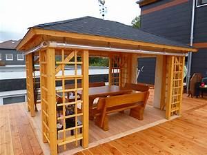 Pavillon 3 X 3 : schliephake rustikale gartenm bel und pavillons pavillon 02 ~ Orissabook.com Haus und Dekorationen
