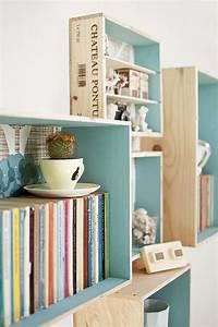Diy recycler une caisse en bois deco en 40 idees for Idee deco cuisine avec fabrication de table en bois