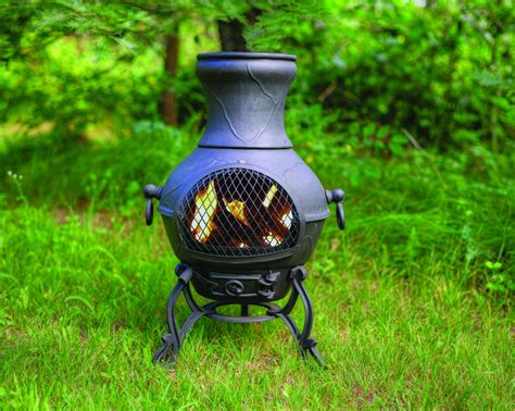 chiminea blue rooster the blue rooster etruscan chiminea