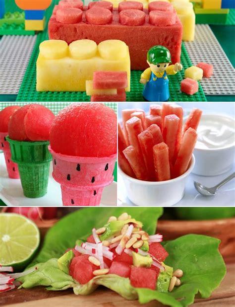 watermelon recipes  kids popsugar moms
