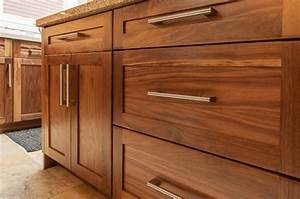 Has A Stain Been Added To The Walnut Wood Cabinets If So