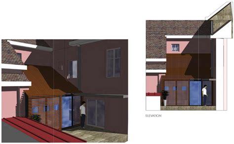 extension chambre extension d 39 une chambre sur cour intérieure