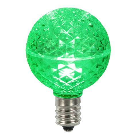 g50 christmas light bulbs club pack of 25 led g50 green replacement christmas light