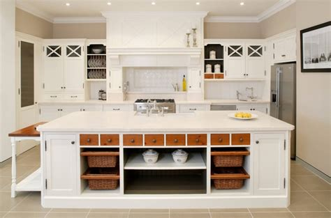 kitchen island with built in table country kitchen ideas freshome