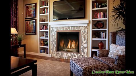 ideas for tv fireplace electric fireplace with tv above ideas