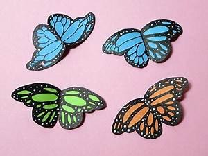 Schmetterlinge Basteln 3d : schmetterlinge basteln 3d 12 48 deko 3d schmetterlinge basteln pin k hlschrankmagnet wanddeko ~ Orissabook.com Haus und Dekorationen