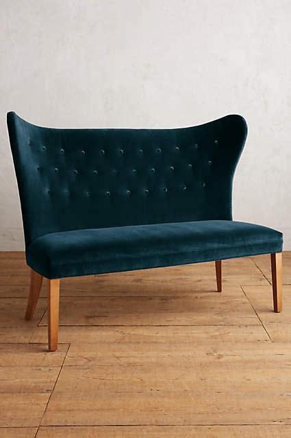 napoleon navy blue bench