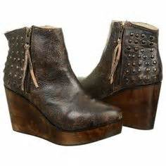 Bed Stu Ghent by Sbicca Zepp Fringe Wedge Booties Fringes Wedges And