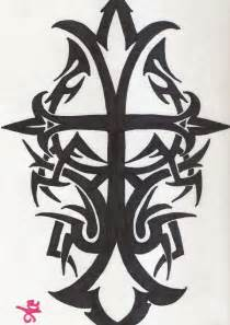Cherokee Tribal Cross Tattoo