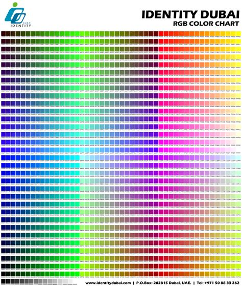 rgb color codes sle rgb color chart letsridenow