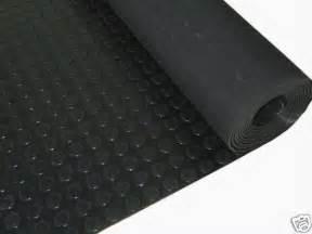 garage rubber stud flooring studded floor coin 12 sq mt ebay