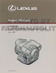 2002 Lexus Es 300 Repair Shop Manual 2 Volume Set Original