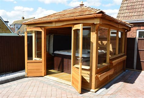 Find ideas and inspiration for hot tub enclosure to add to your own home. Hot Tub and Gazebo Package | Interesting Ideas for Home