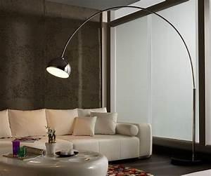 Led Bogenleuchte Dimmbar : bogenleuchte silber glas pendelleuchte modern ~ Markanthonyermac.com Haus und Dekorationen