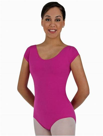 Leotard Sleeve Short Cotton Classwear Wrappers Value