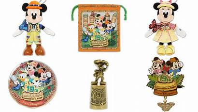 Tokyo Anniversary Merchandise Disneysea 19th Disney Park