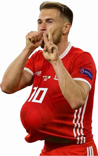 Ramsey Render Aaron Footyrenders Wales