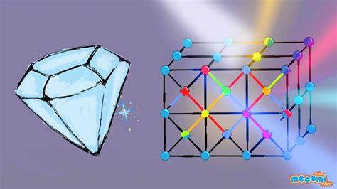 structure properties  diamond  narration science  kids educational