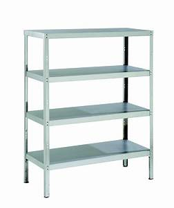 Steel, Racks, For, Storage, With, Shelves