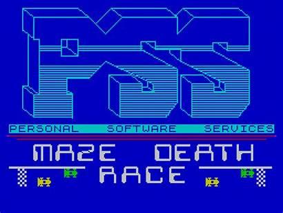 Race Death Maze Arcade Title Pss