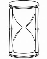 Hourglass Drawing Clipart Clip Sand Coloring Glass Hour Clock Pages Colouring Cliparts Line Activity Sheets Clipartbest sketch template