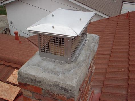 Clean Stainless Steel Chimney Caps Karenefoley Porch And