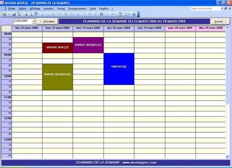 modèle planning excel gratuit modele planning gratuit semaine ccmr