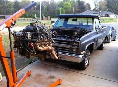 cummins engine swap chevy truck  truck resource