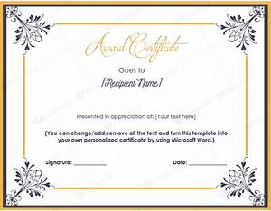 award certificate template publisher award certificate With ms publisher certificate templates